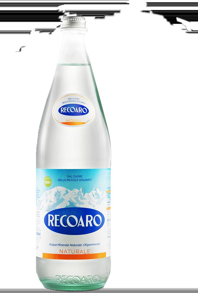 Recoaro - Bottiglia nuvole
