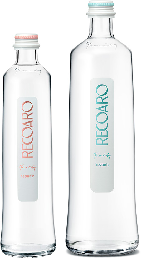 Recoaro Vanity bottiglie acqua